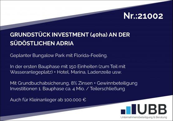 Grundstück Investment