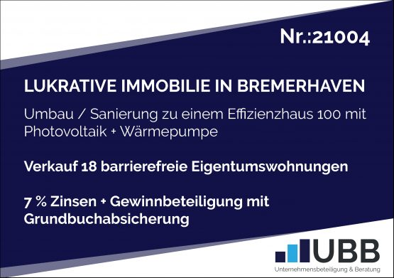 lukrative Immobilie